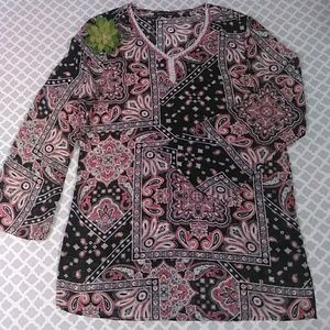 Mechant tunic women's embroidered